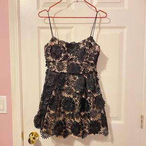 Lace mini dress/top